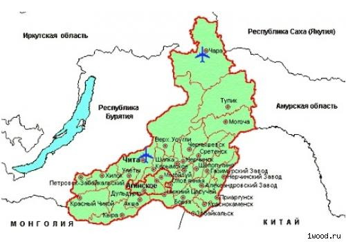 О́круг - бывший субъект Российской Федерации, автономный округ в Заб…